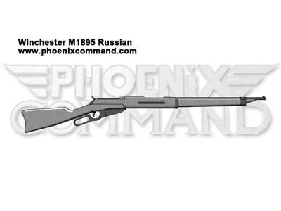 Winchester M1895 Russian
